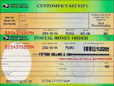 Money Order Picture